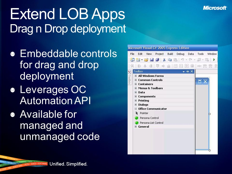 Extend LOB Apps Drag n Drop deployment