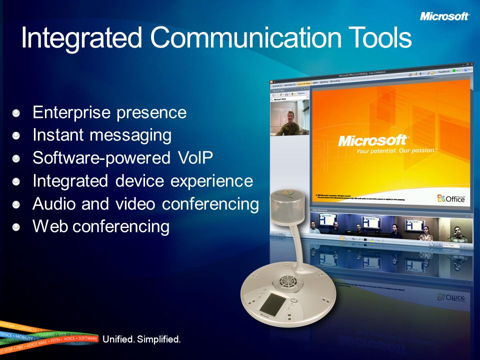 Integrated Communication Tools