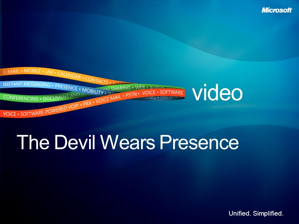 The Devil Wears Presence