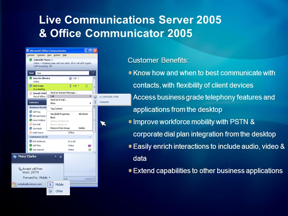 Live Communications Server 2005 & Office Communicator 2005