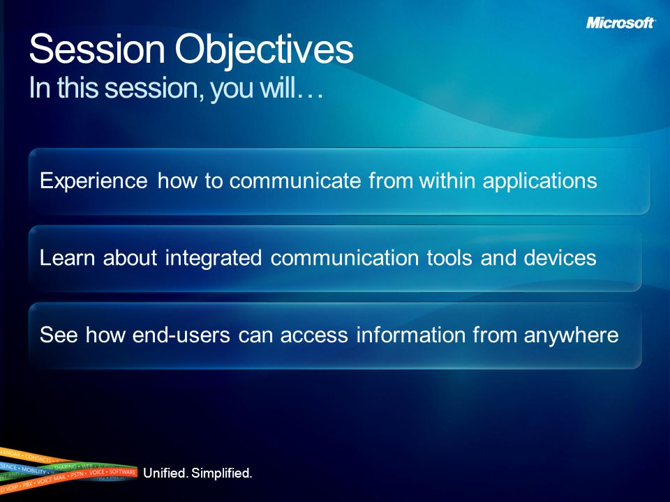 Session Objectives In this session, you will…