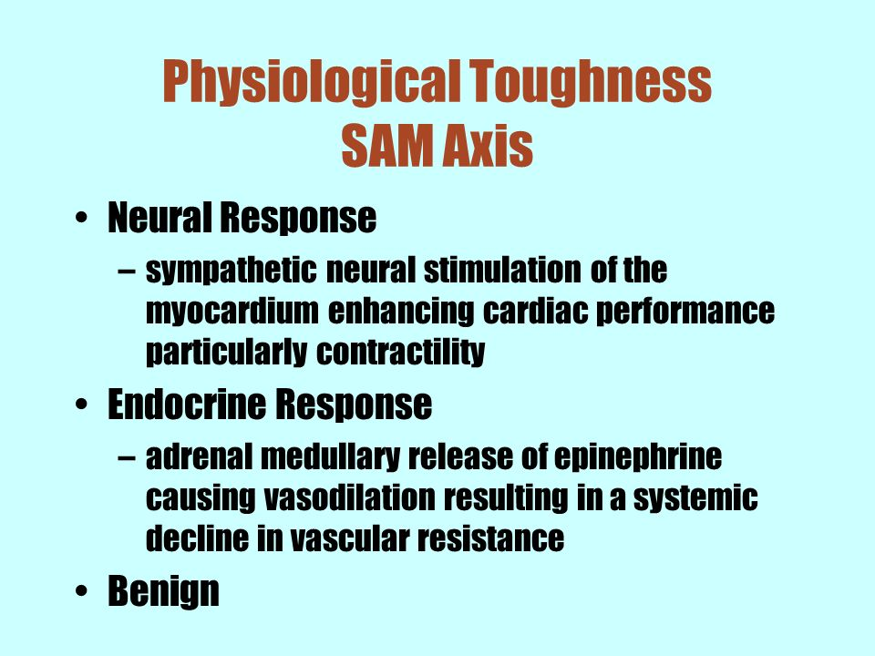 Physiological Toughness SAM Axis