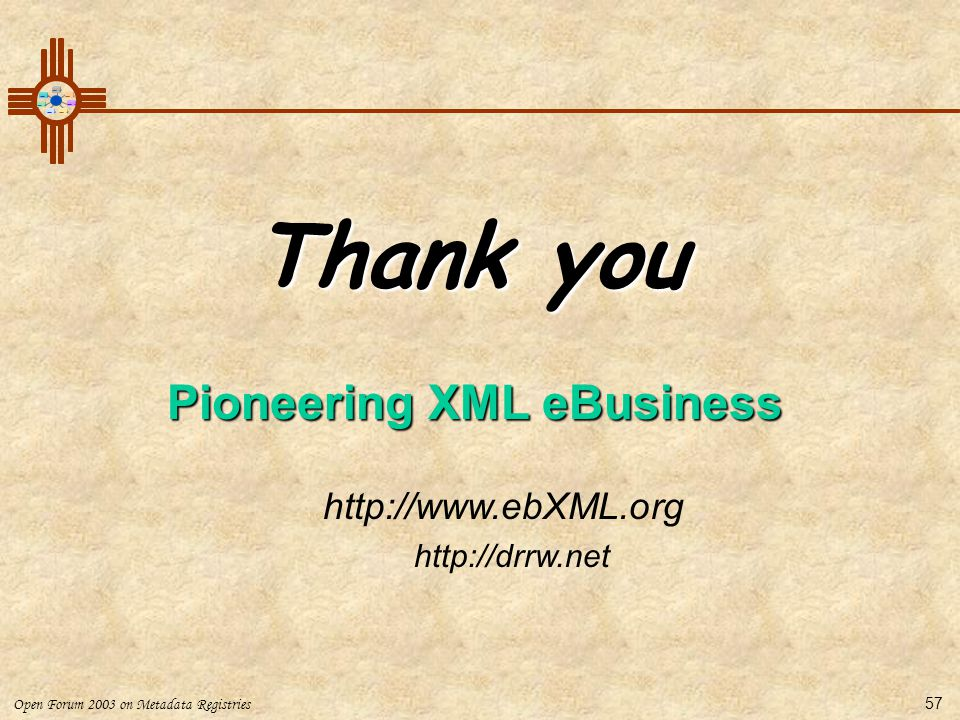 Pioneering XML eBusiness