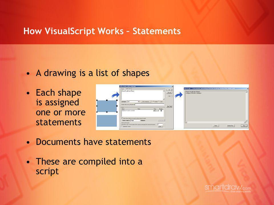 How VisualScript Works – Statements
