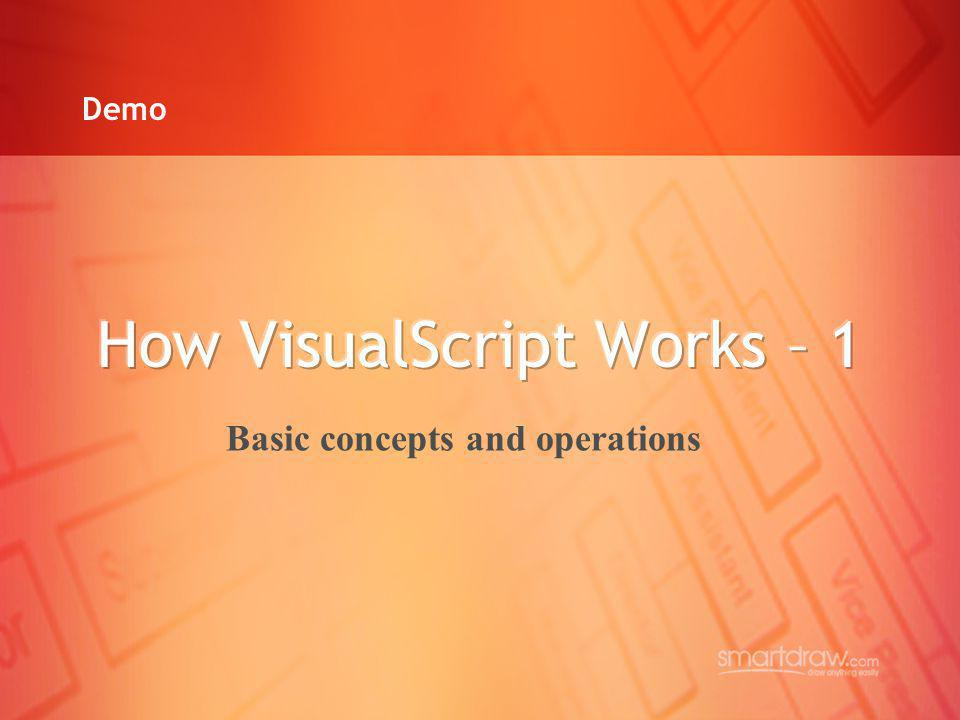 How VisualScript Works – 1