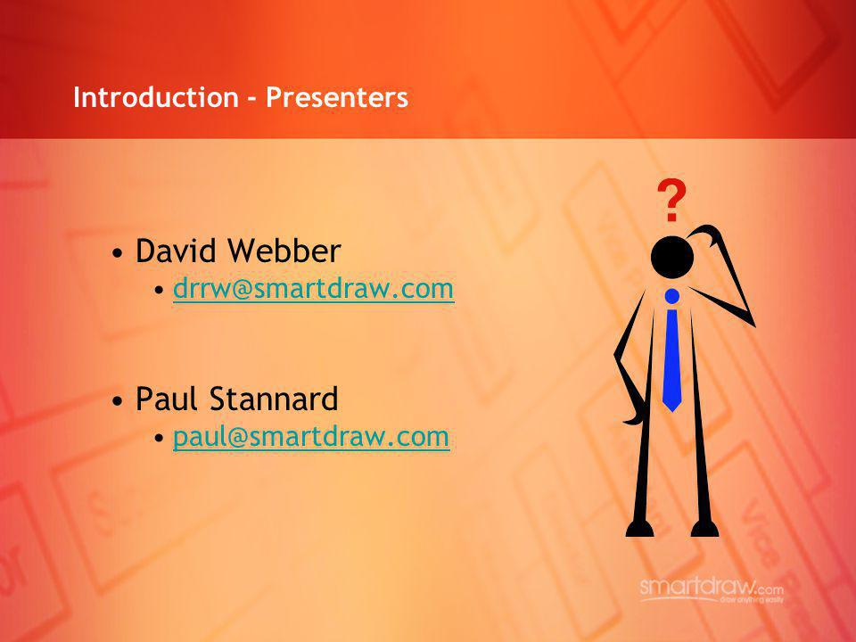 Introduction - Presenters