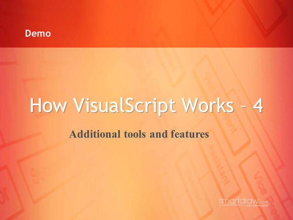 How VisualScript Works – 4
