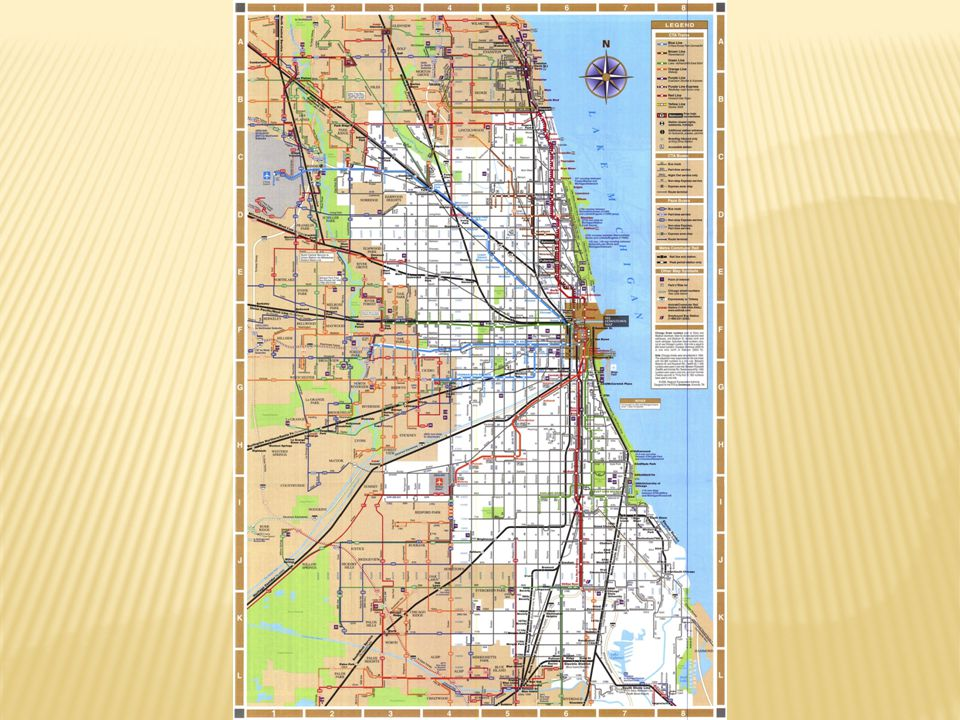 If I'm an inmate, and based on my experience in Chicago I have this map, it won't work well here in Orlando