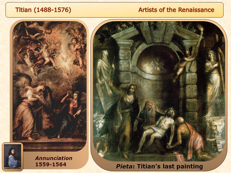Pieta: Titian's last painting