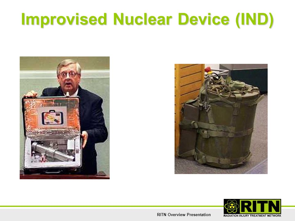 Improvised Nuclear Device (IND)