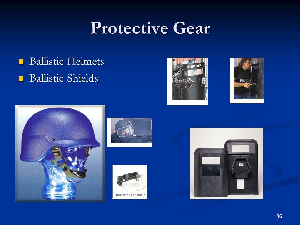 Protective Gear Ballistic Helmets Ballistic Shields