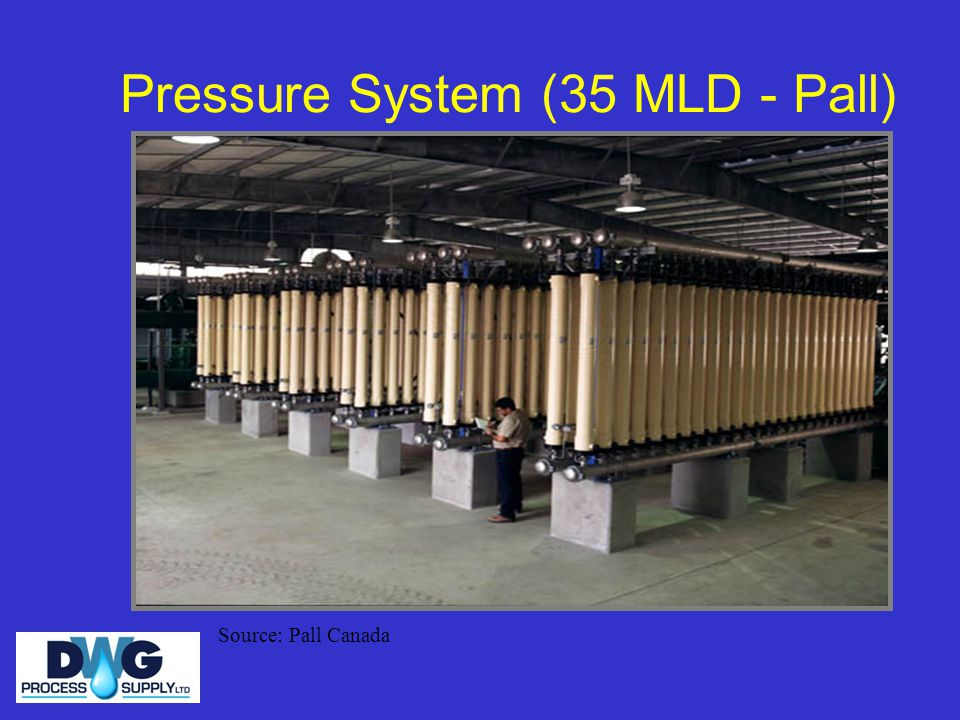 Pressure System (35 MLD - Pall)