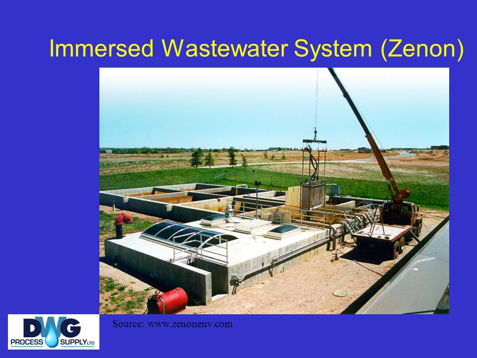 Immersed Wastewater System (Zenon)
