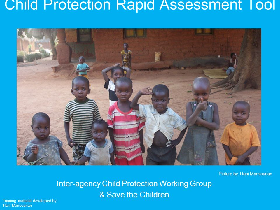 Child Protection Rapid Assessment Tool