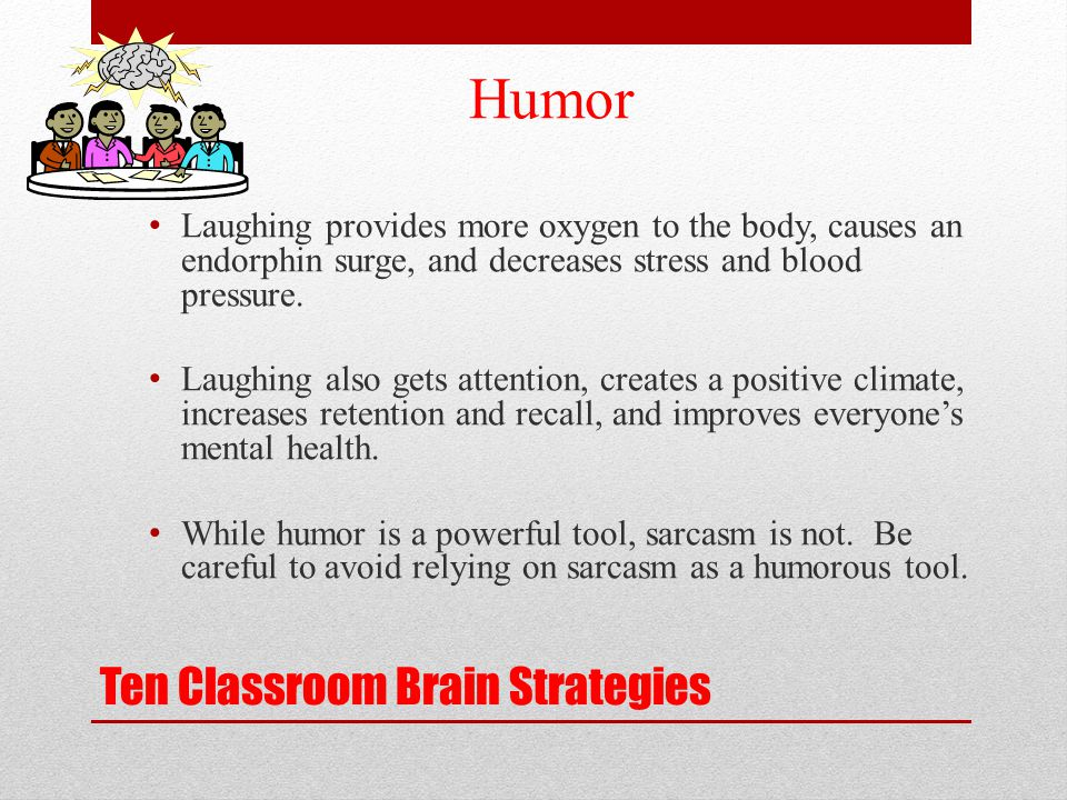 Ten Classroom Brain Strategies