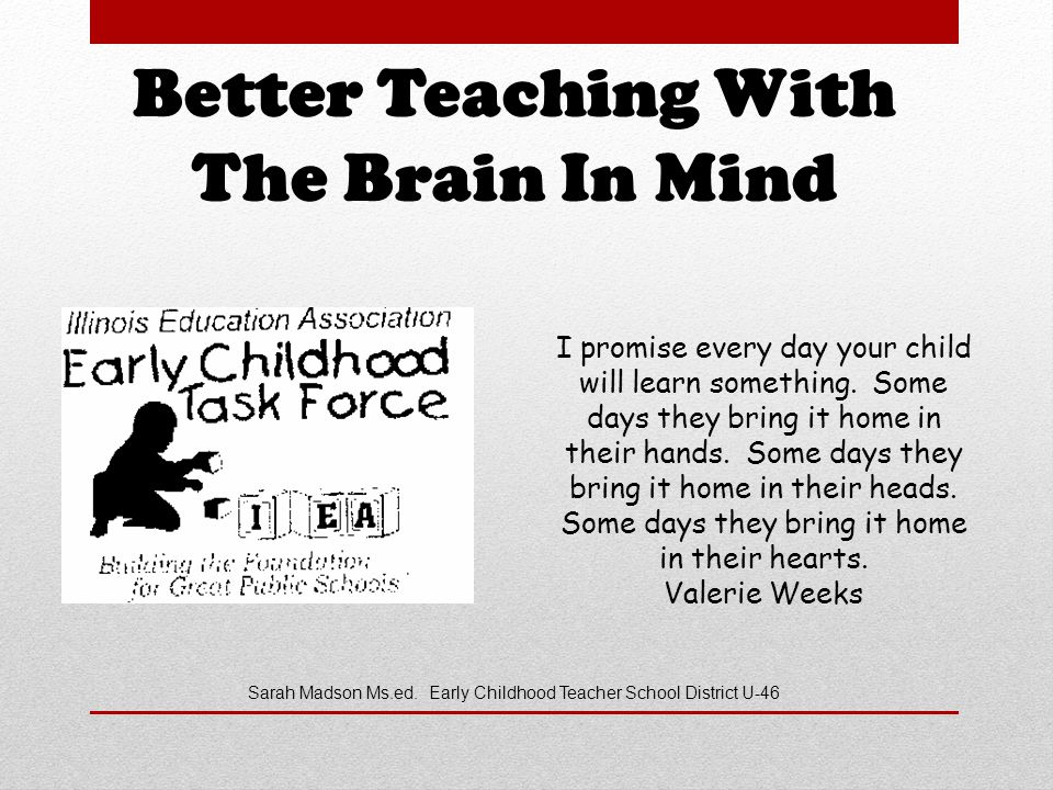 Better Teaching With The Brain In Mind