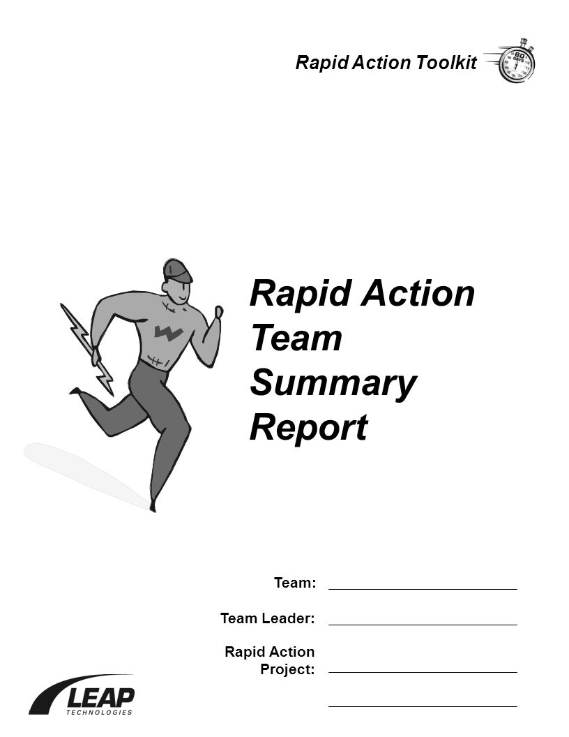Rapid Action Team Summary Report