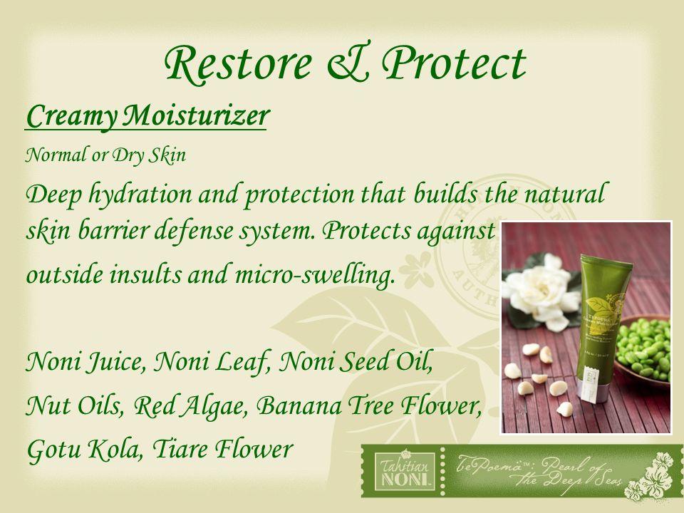 Restore & Protect Creamy Moisturizer