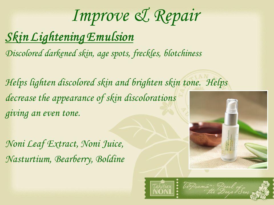Improve & Repair Skin Lightening Emulsion