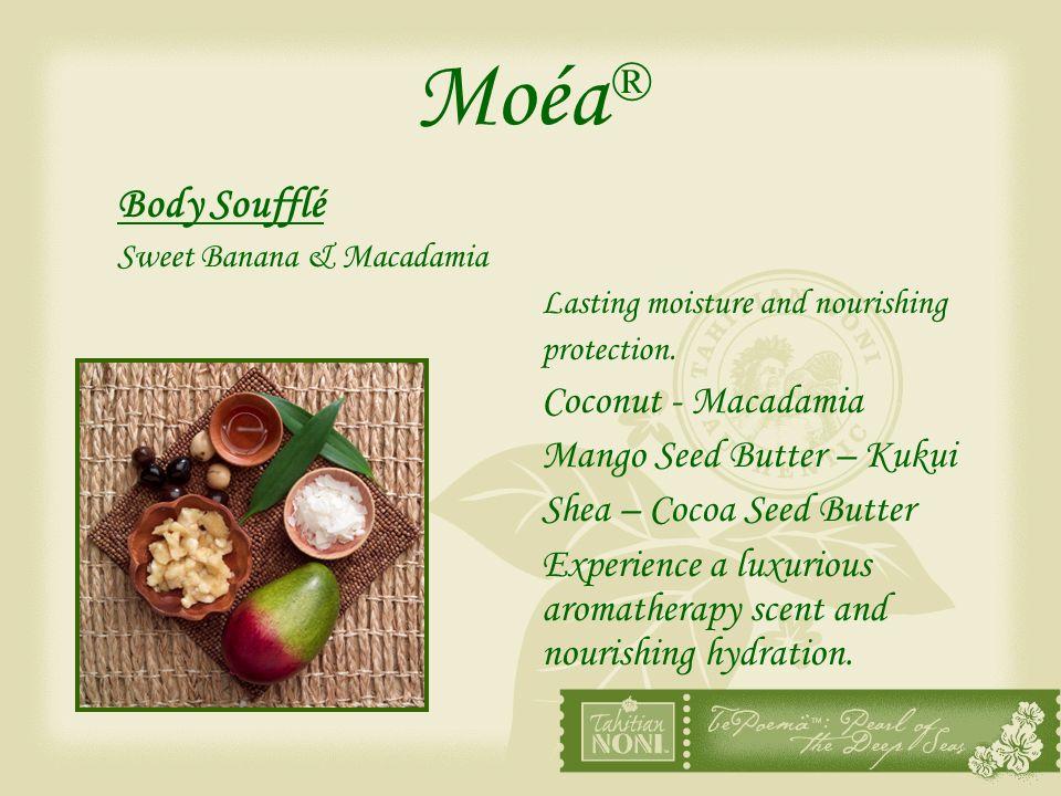 Moéa® Body Soufflé Coconut - Macadamia Mango Seed Butter – Kukui