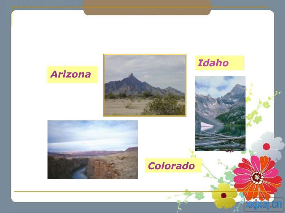 Idaho Arizona Colorado