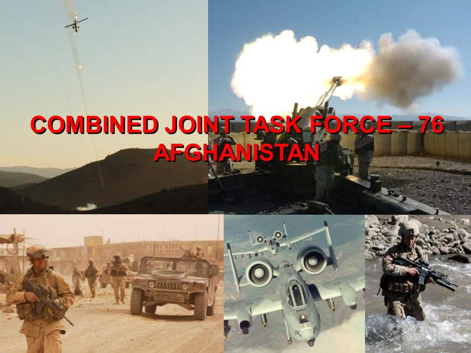 COMBINED JOINT TASK FORCE – 76