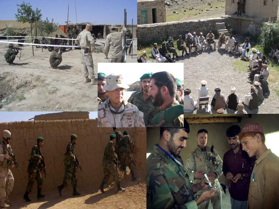 Insert pictures These pictures depict the future of Afghanistan…an Afghanistan secured and protected by its people.