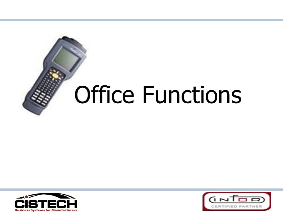 Office Functions