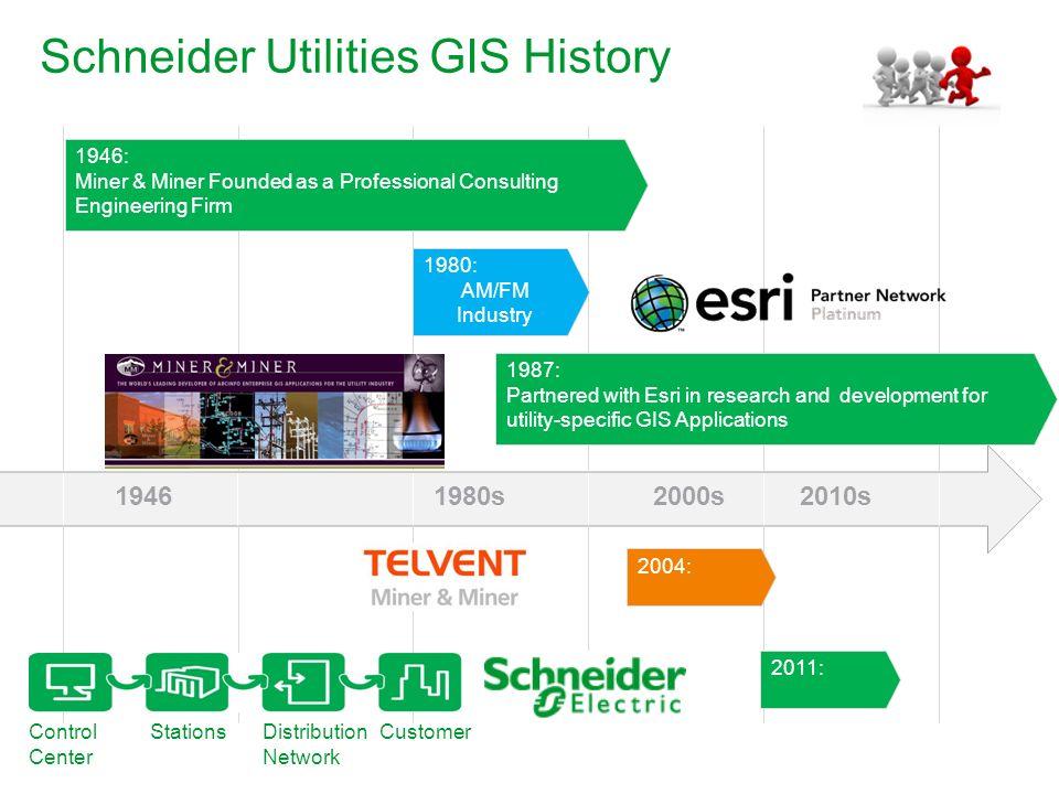 Schneider Utilities GIS History