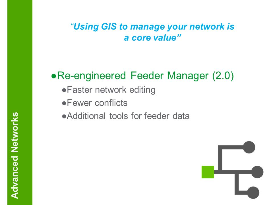 Using GIS to manage your network is a core value