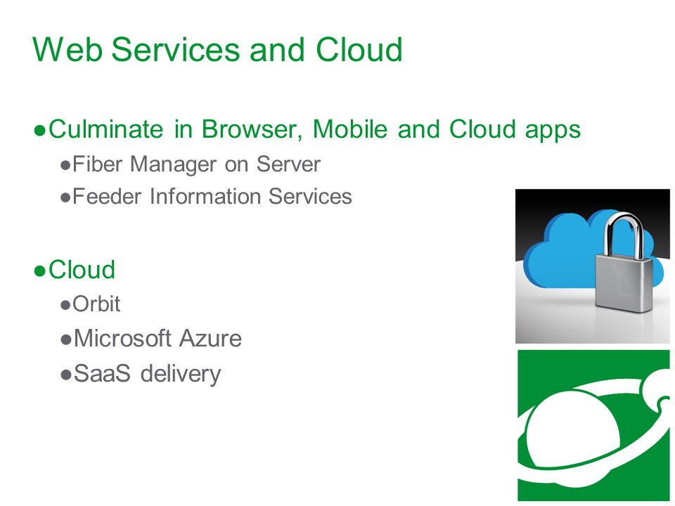 Web Services and Cloud Culminate in Browser, Mobile and Cloud apps