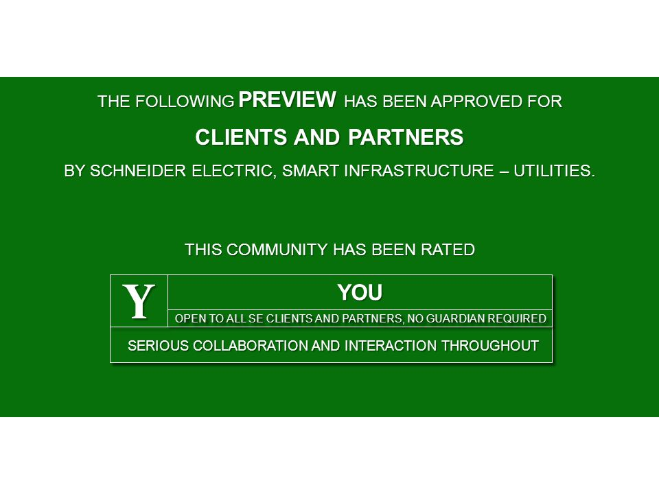 Y CLIENTS AND PARTNERS YOU THE FOLLOWING PREVIEW HAS BEEN APPROVED FOR