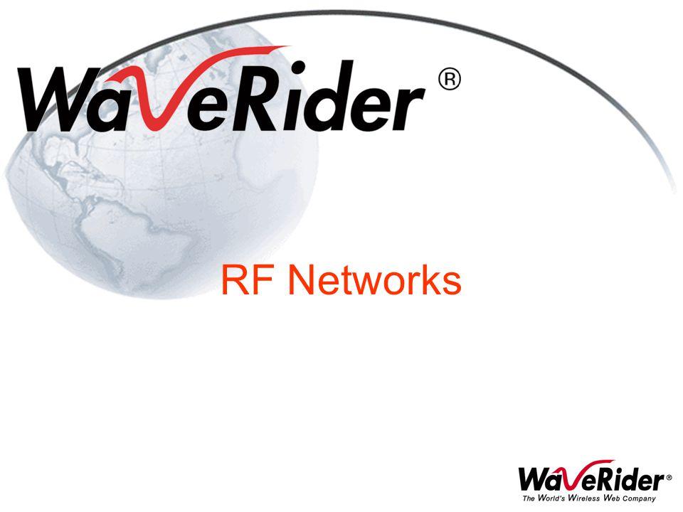 RF Networks