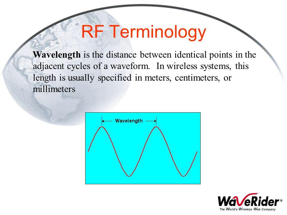 RF Terminology
