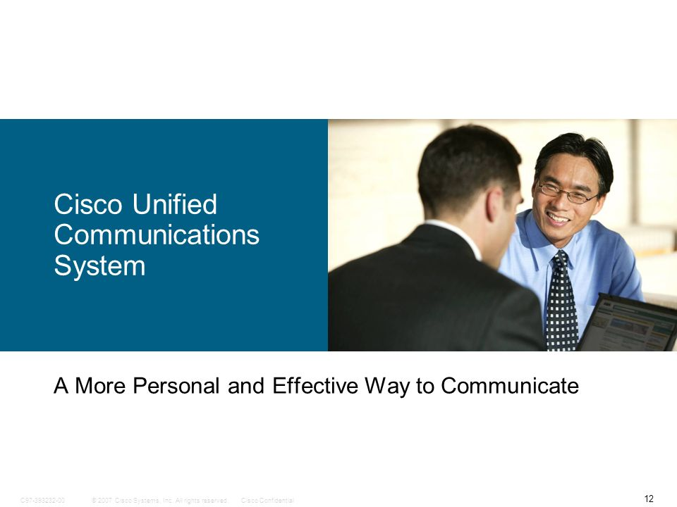 Cisco Unified Communications System