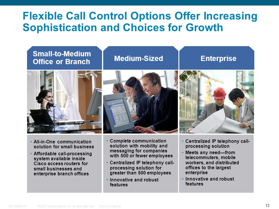 Flexible Call Control Options Offer Increasing Sophistication and Choices for Growth