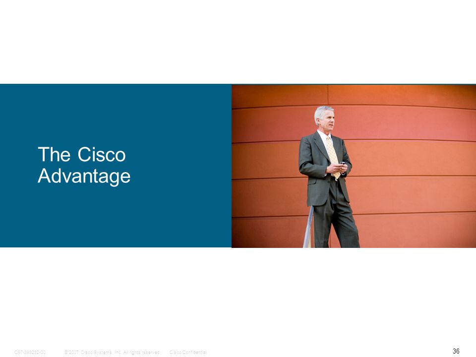 The Cisco Advantage