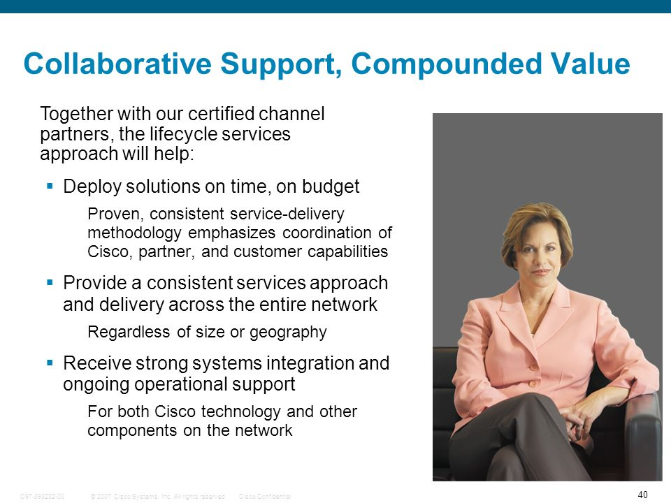 Collaborative Support, Compounded Value