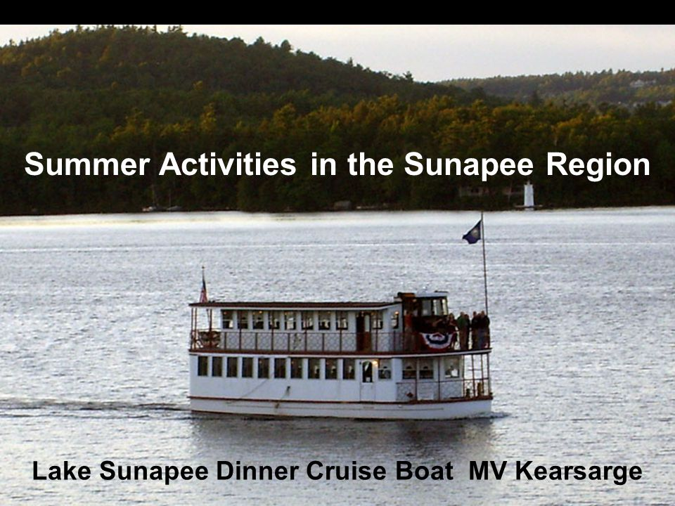 Summer Activities in the Sunapee Region