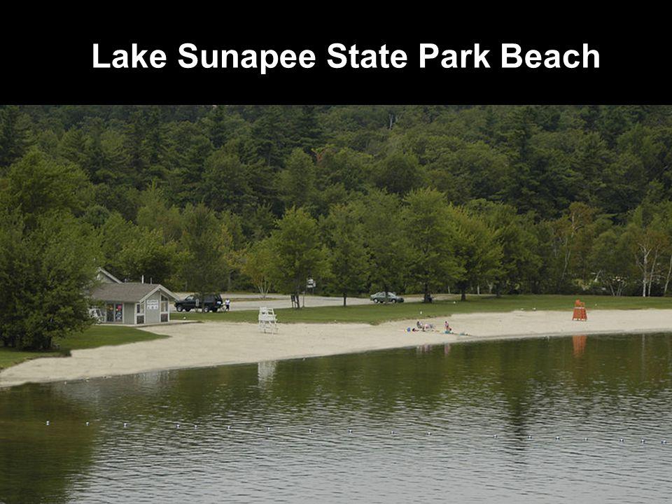 Lake Sunapee State Park Beach