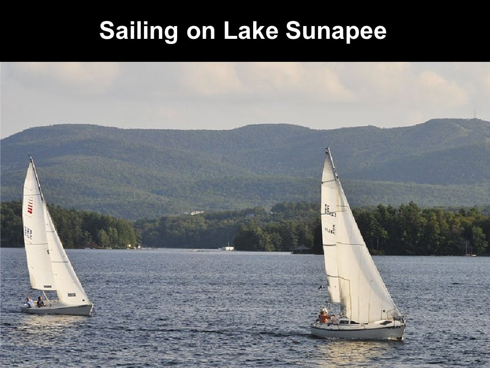 Sailing on Lake Sunapee