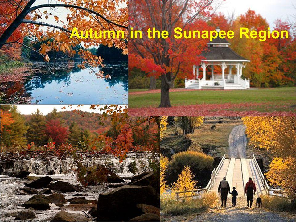 Autumn in the Sunapee Region