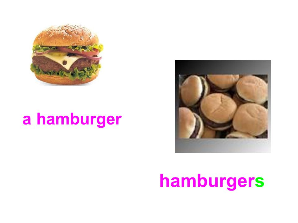 a hamburger hamburgers