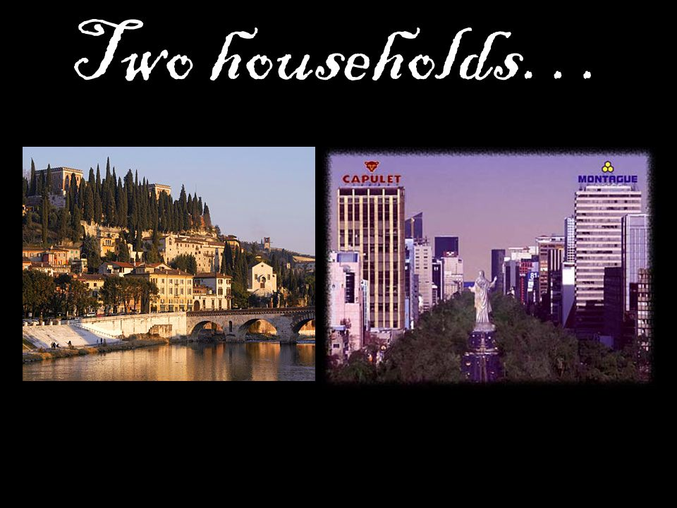 Two households…
