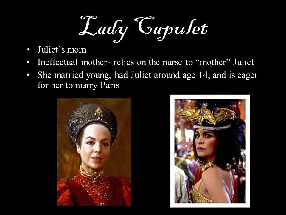 Lady Capulet Juliet's mom