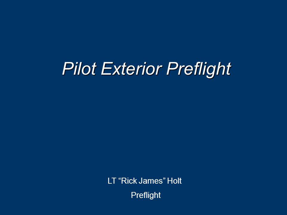 Pilot Exterior Preflight