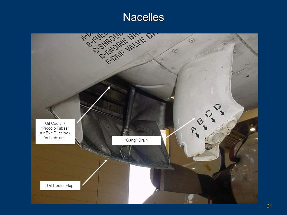 Nacelles Oil Cooler / Piccolo Tubes