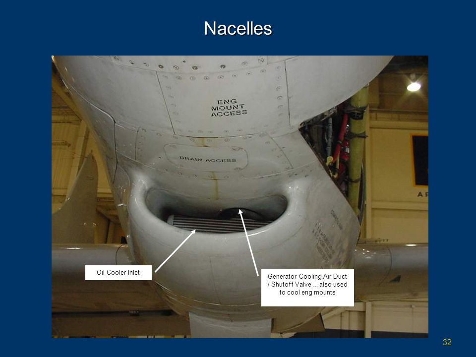 Nacelles Oil Cooler Inlet