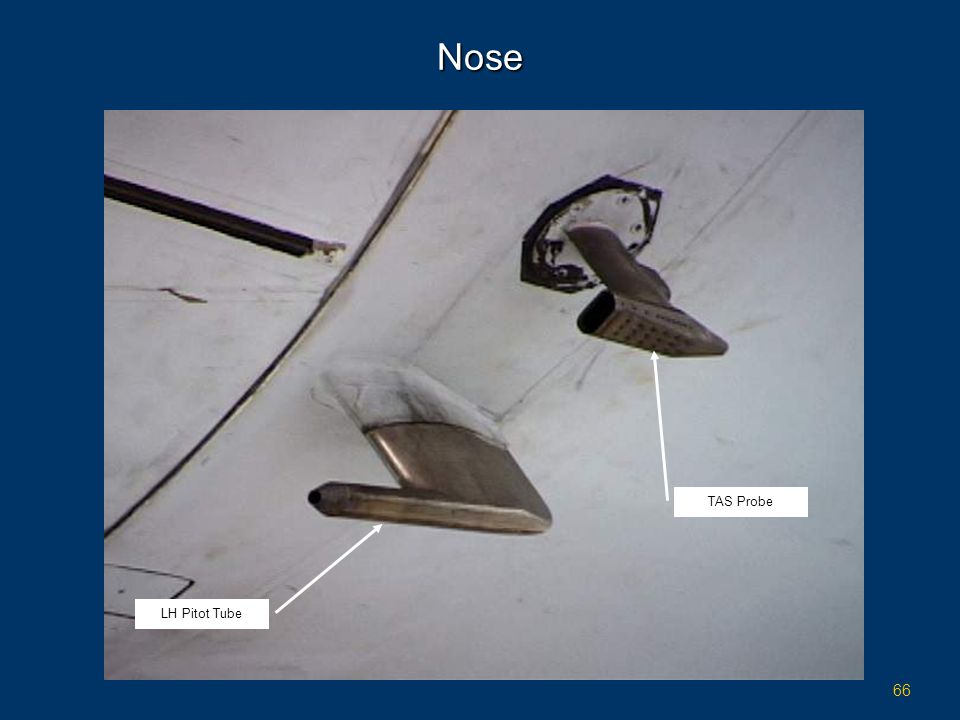 Nose TAS Probe LH Pitot Tube