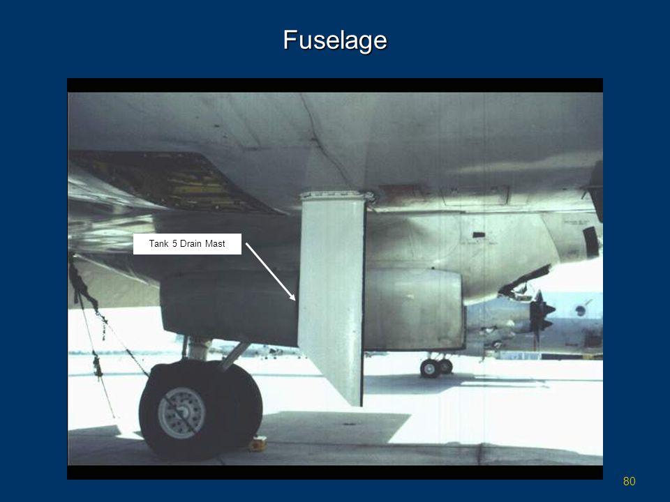 Fuselage Tank 5 Drain Mast